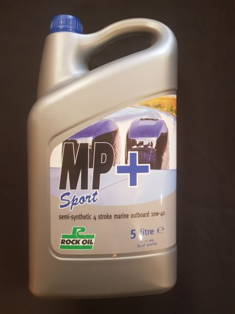 ROCK OIL MP PLUS 10W/40 SEMI SYNTHETIC 5ltr