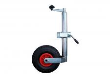 48mm Pneumatic Jockey Wheel and Clamp
