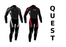 Jobe Quest Full Wetsuit